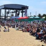 The main stage at St Kilda Festival