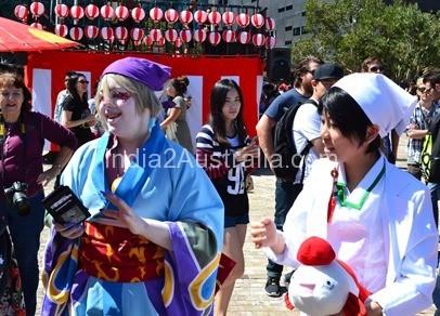 Japanese summer festival 7
