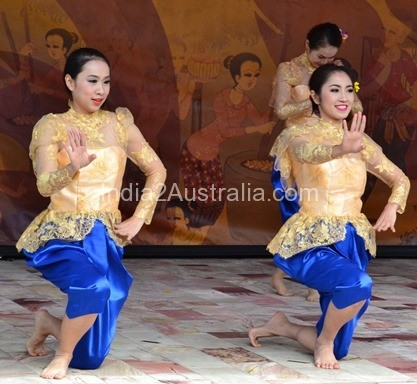 Thai Culture and food festival Federation Square 2015