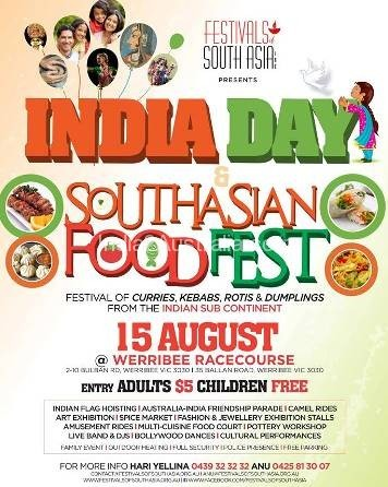 South Asian Food Fest on India Day