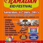 Ramdaan Eid Celebrations in Sydney