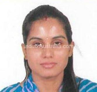 Deepti sharma missing in Brisbane