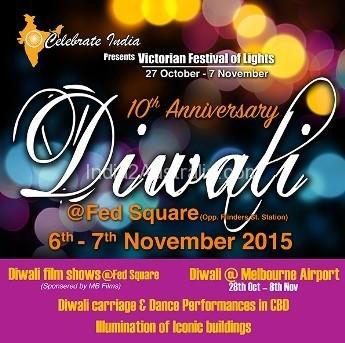 Federation square diwali celebrations
