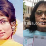 Bollywood actress Sadhana Now and Then photos