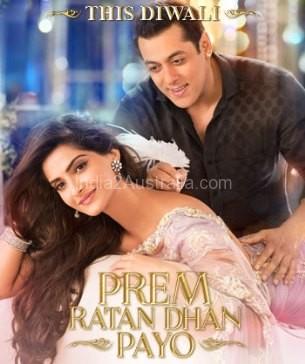 'Prem Ratan Dhan Payo' Hindi Movie Screening details for Australia