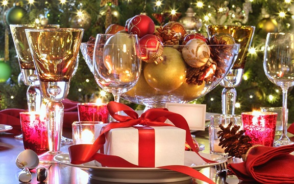 Christmas Table Decorations 2
