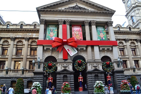 Christmas Melbourne post office
