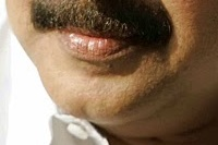 Mammooty with cleft chin