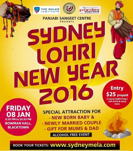 Sydney LOHRI mela