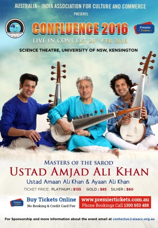 Ustad Amjad Ali Khan in Sydney
