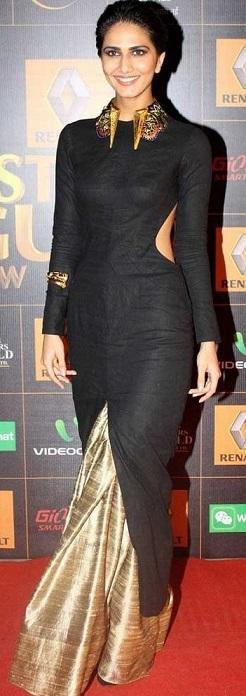 saree and dress