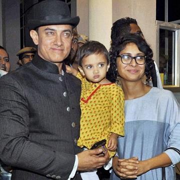 Amir Khan's son