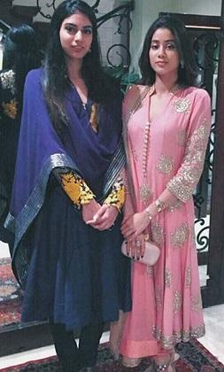 Sreedevi's daughter