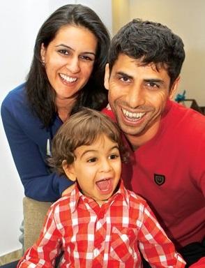 ashish nehra family photo clear