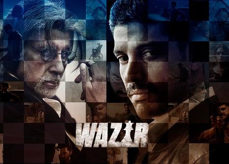 Wazir Hindi Movie Screening in Australia (Melbourne, Sydney, Perth, Adelaide, Brisbane)