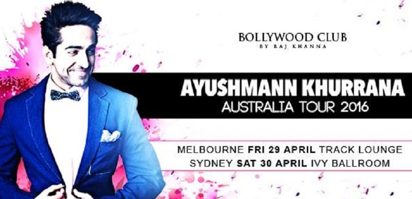 Ayushman khurana in Sydney and mELBOURNE