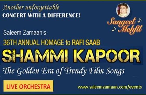 RAFI SHAMMI KAPOOR LIVE ORCHESTRA sYDNEY