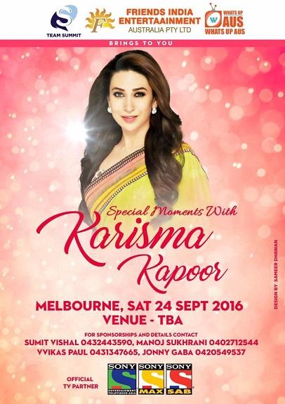 Karisma Kapoor in Melbourne