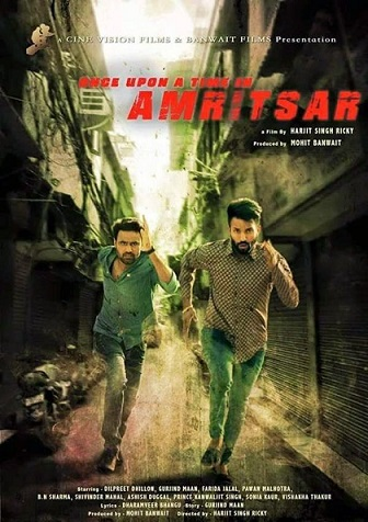 Once Upon a Time in Amritsar, Punjabi movie session time for Australia (Melbourne, Sydney, Perth Adelaide and Brisbane)