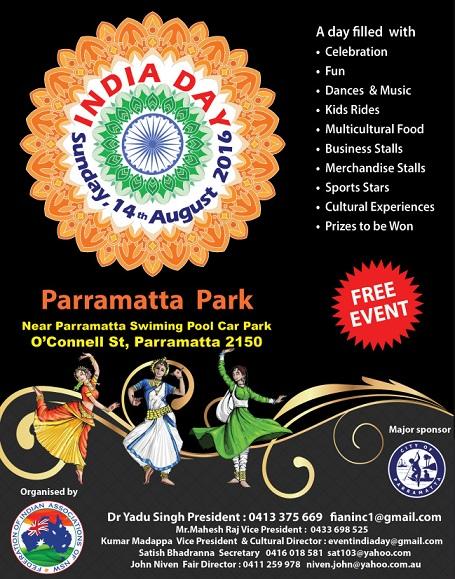 India day at parramatta