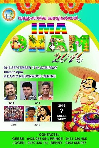 Onam Celebrations Woollongong