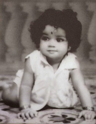 Mohanlal as a child
