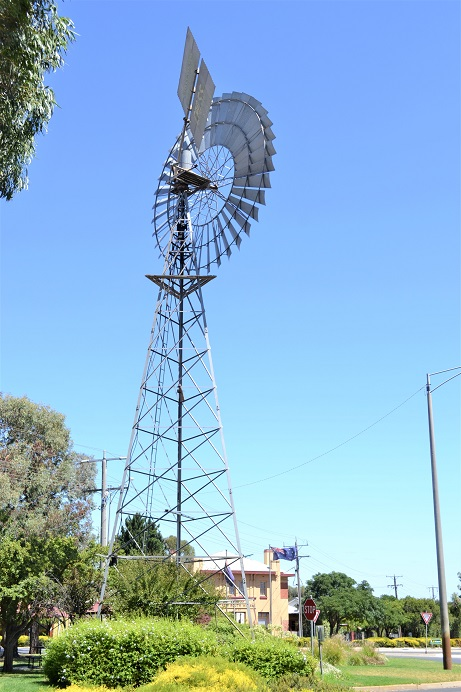 Why are so many Windmills in Rural Australia?
