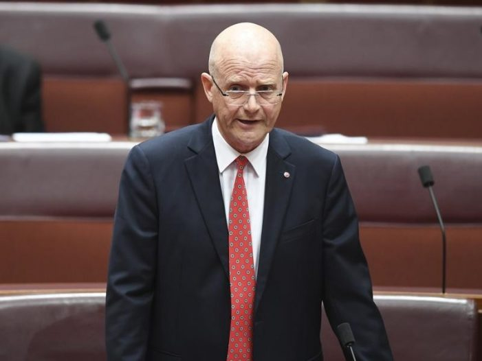 "No thanks for white man Leyonhjelm's ""Brown Men"" speech"