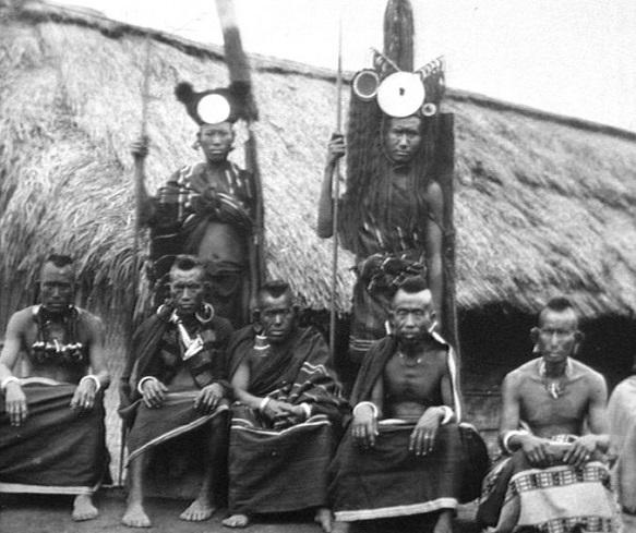 The head hunters of Nagaland